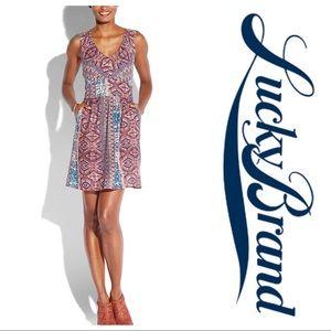 Lucky Brand Tribal Stripe Dress